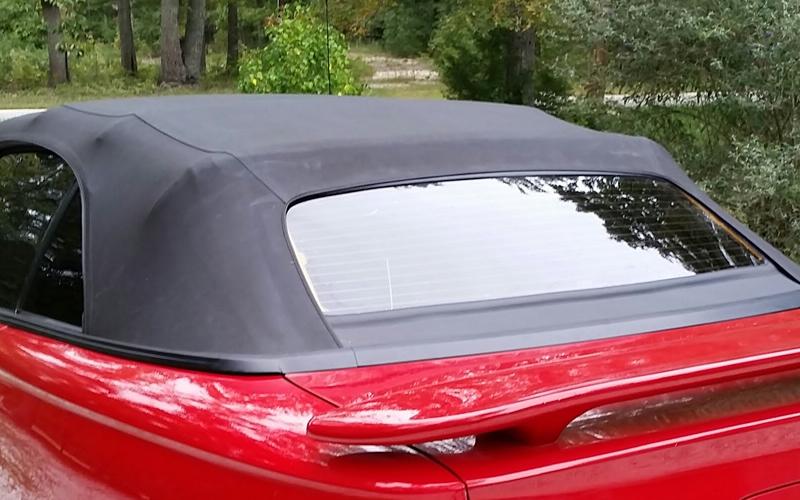 Replace Convertible Tops Convertible Glass Repair