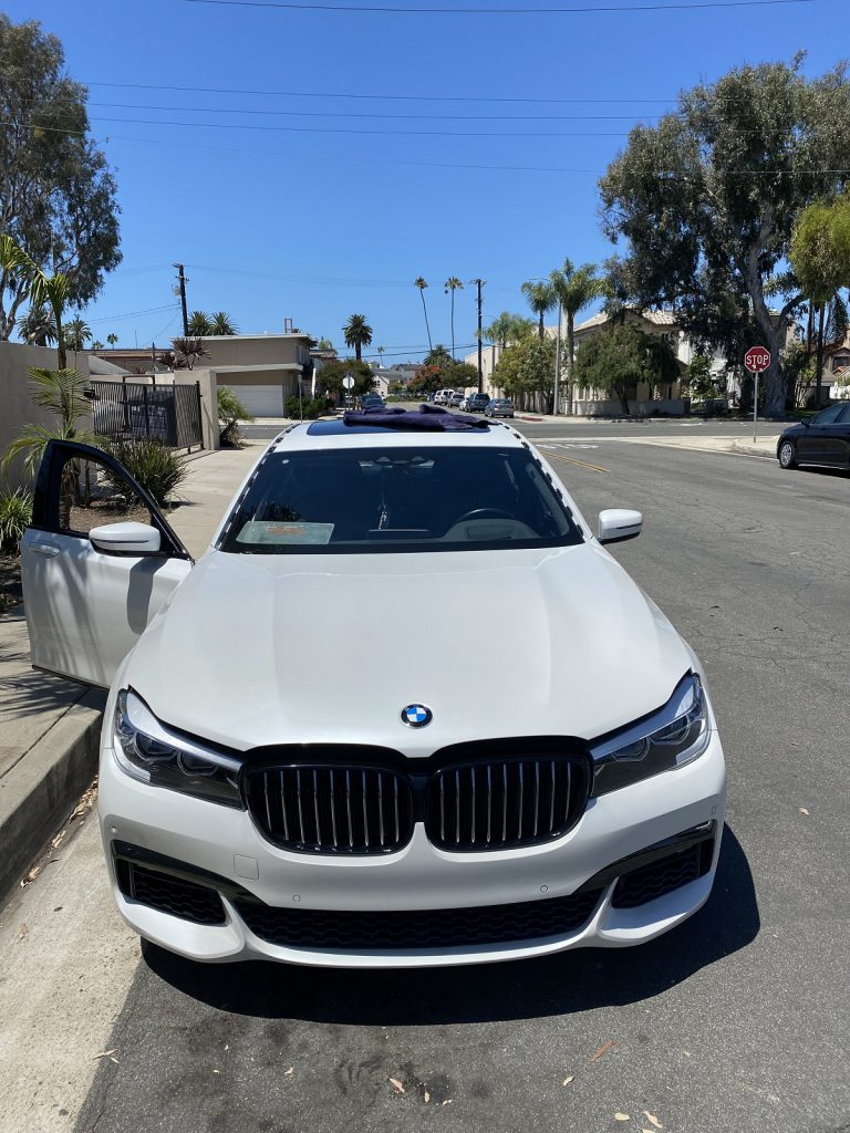 2019 bmw 740 windshield replacement