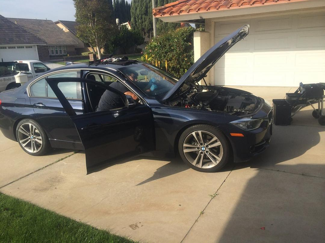 BMW 5 series windshield replacement