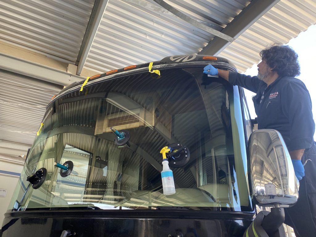 RV Glass Repair & Windshield Replacement - Alfa Auto Glass