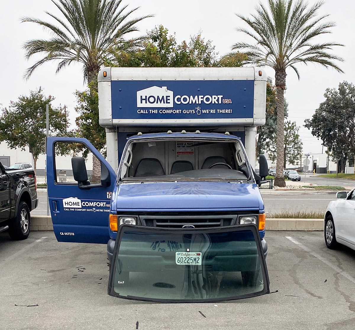 Ford Econoline e350 windshield replacement