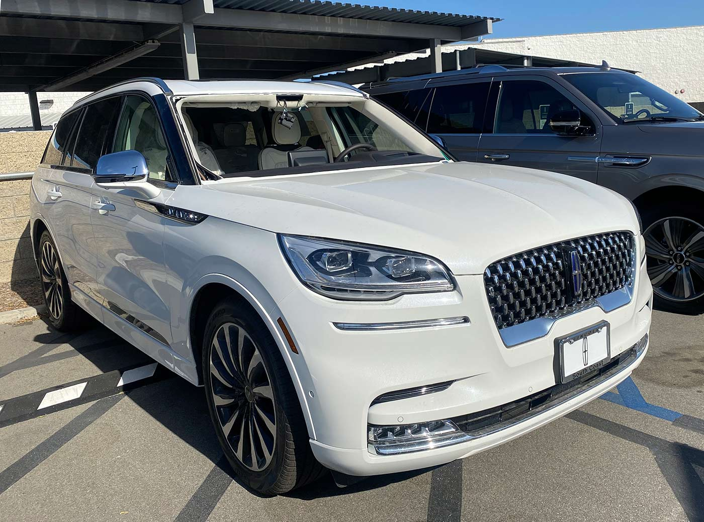 Lincoln aviator windshield replacement