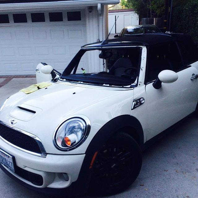 mini cooper windshield replacement