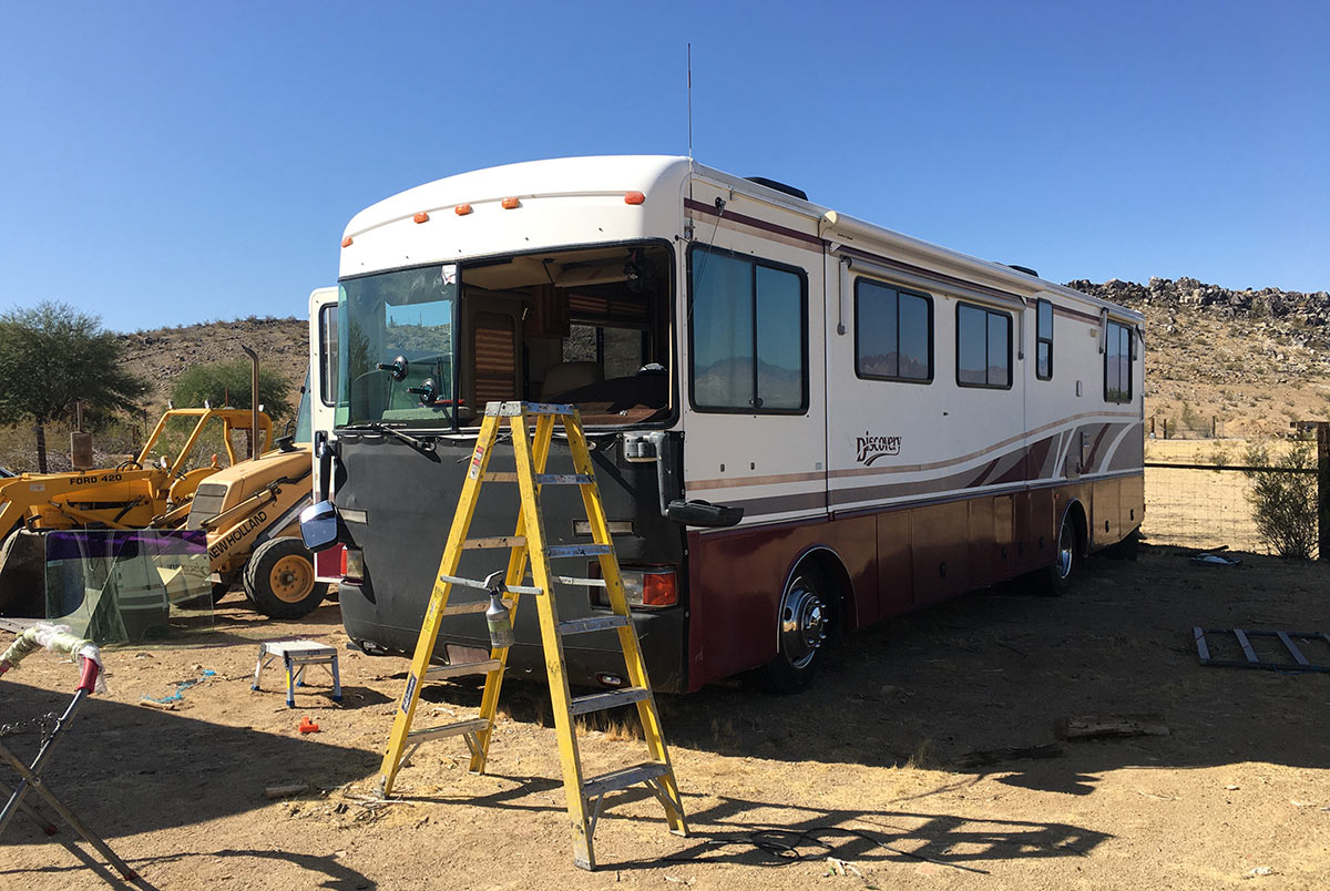 mobile rv windshield replacement service california