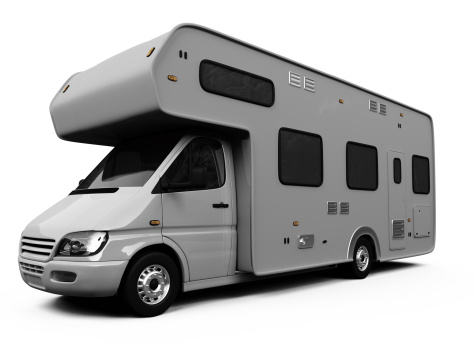 side view of RV